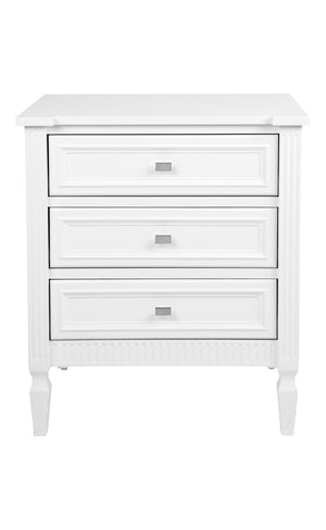 Merci Bedside Table - Large White