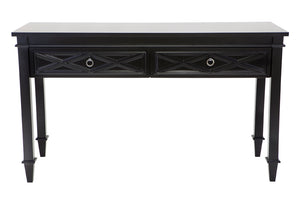 Plantation Console Table - Black