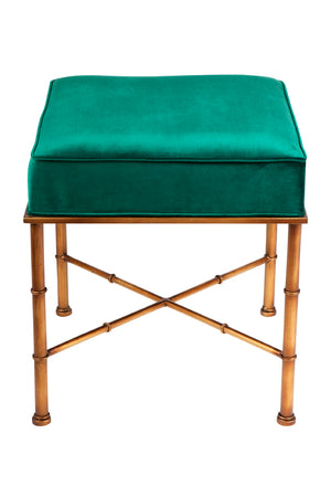Clara Stool - Emerald Green
