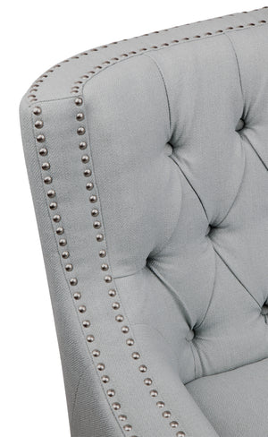 Sloane Arm Chair - Ice Blue