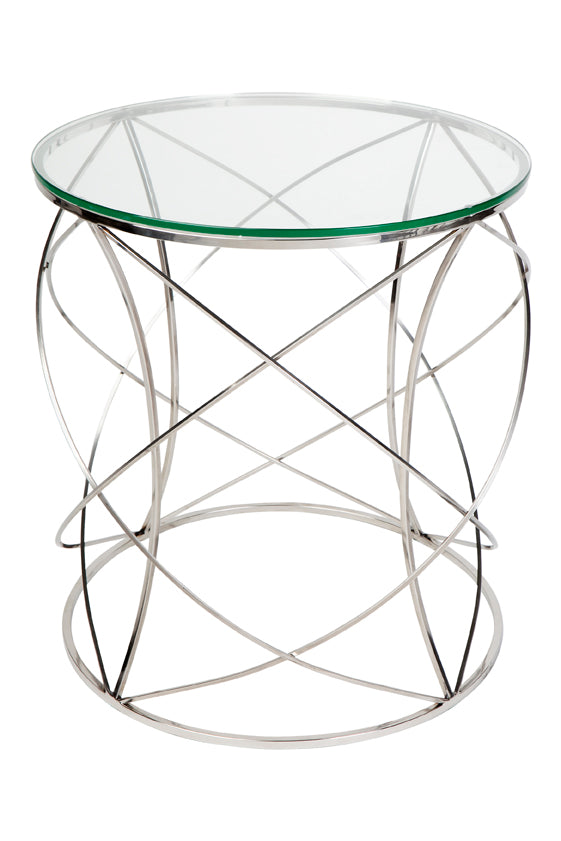 Sophie Side Table - Chrome