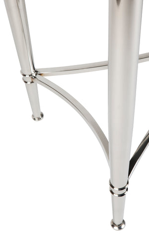 Jacques Console Table - Nickel