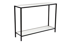 Cocktail Console Table - White