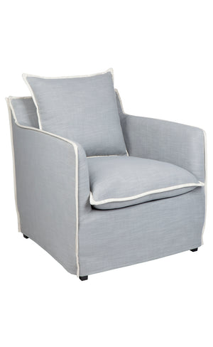 Long Island Arm Chair - Dove Grey