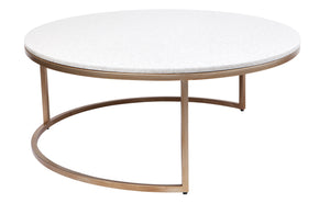 Chloe Coffee Table - Gold 2pc