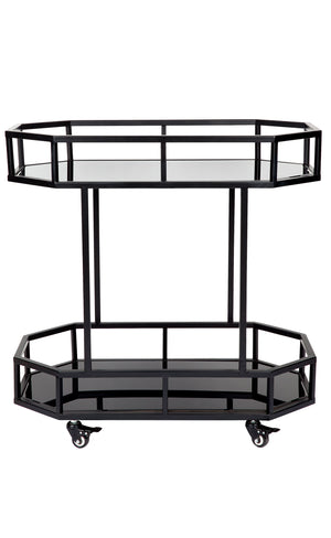 Brooklyn Drinks Trolley - Black
