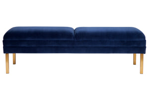 Broadway Bed End - Navy