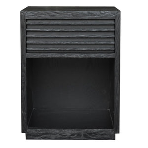 Bahama Bedside Table - Black