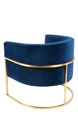 Amoret Arm Chair - Navy