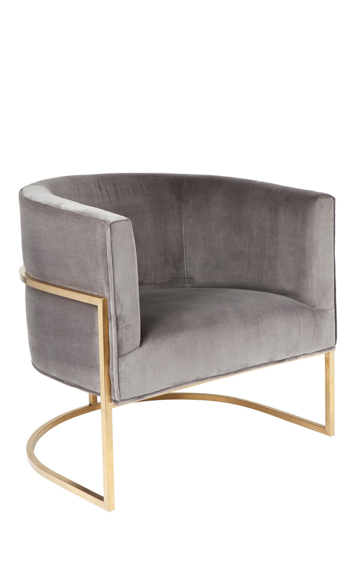 Amoret Arm Chair - Charcoal