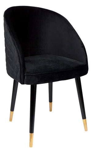 Reed Arm Chair - Black