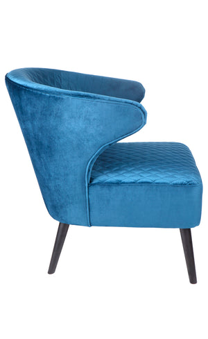 Talia Arm Chair - Blue