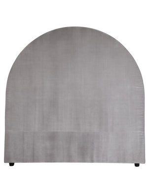 Dover Headboard - Queen Arched Grey