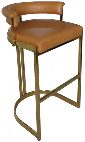 Morgan Bar Stool - Honey
