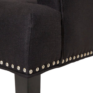 Bentley Arm Chair - Black