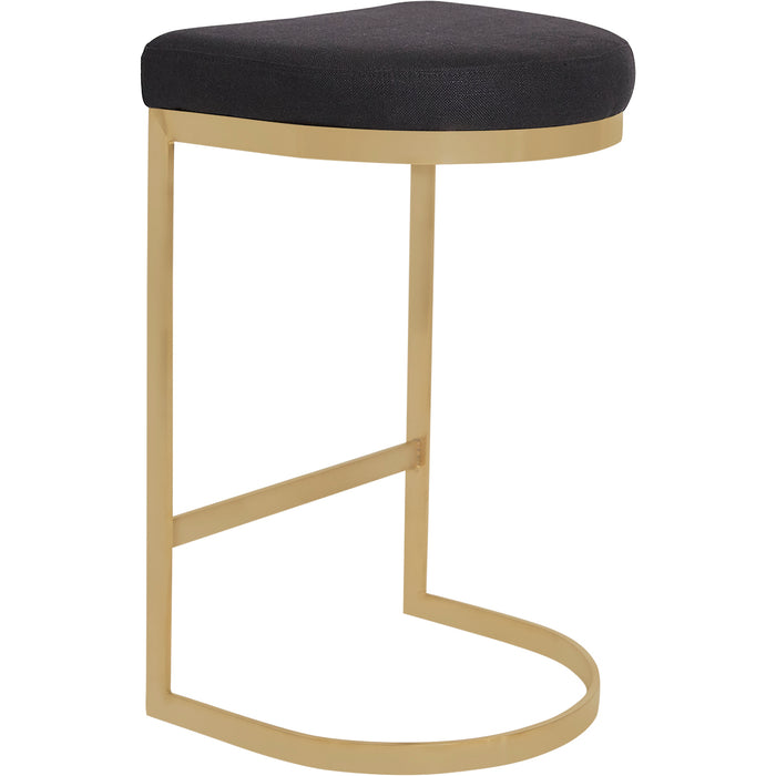 York Kitchen Stool - Black