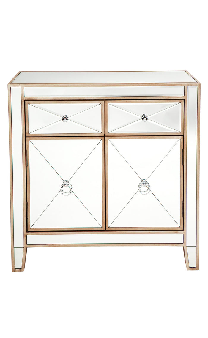 Apolo Cabinet - Antique Gold