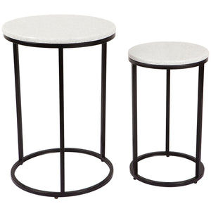 Chloe Nest of Tables - Black