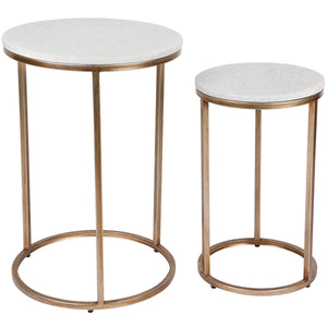Chloe Nest of Tables - Gold