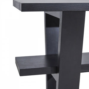 Blaine Console Table - Black