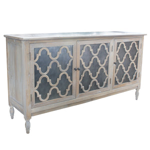 Trellis Reclaimed Pine Timber Sideboard, 173cm