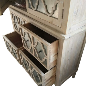 Trellis Reclaimed Pine Timber Armoire