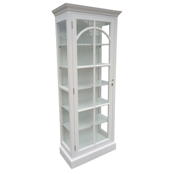 St Germaine Timber Display Case, White