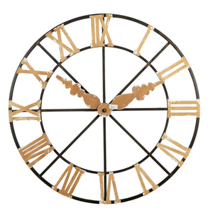 Round Faux Wall Clock