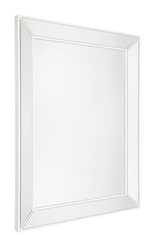 Zeta Wall Mirror - Large White