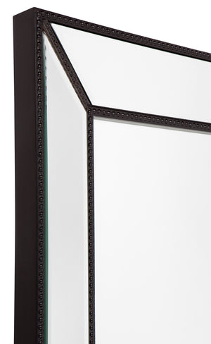 Zeta Wall Mirror - Large Black