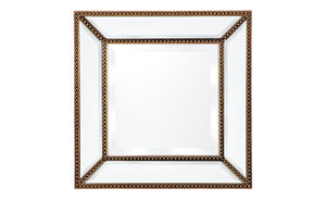 Zeta Wall Mirror - Small Antique Gold