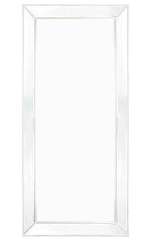 Zeta Floor Mirror - White