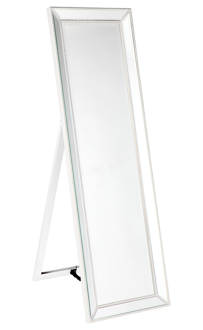 Zeta Cheval Mirror - White
