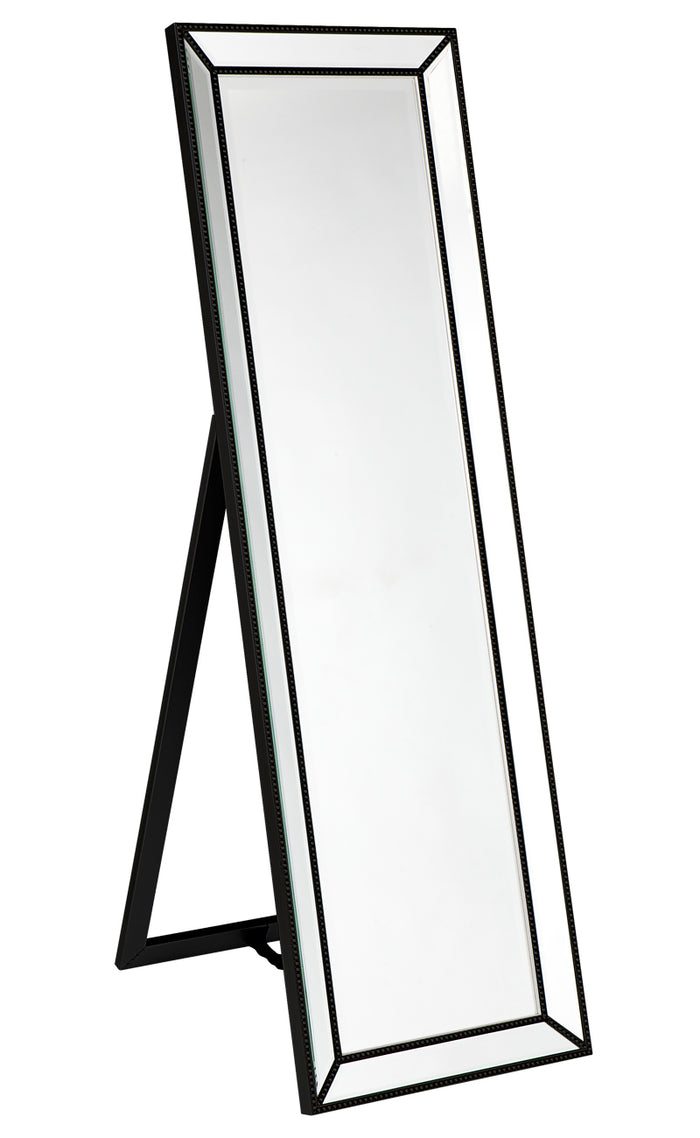 Zeta Cheval Mirror - Black