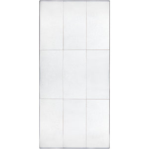 Beluga Floor Mirror - Panelled