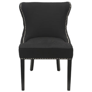 Thomas Fabric Dining Chair, Black