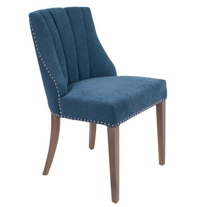 Stanton Fabric Dining Chair, Blue