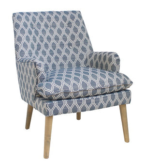 Santa Fe Fabric Armchair, Patterned