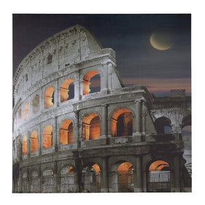 COLOSSEUM CANVAS WALL ART LED LIGHT UP (COLOSSEO)