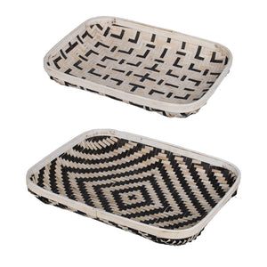 Set of 2 Organic Elements Tray