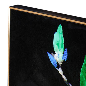 GREEN MAGNOLIA WALL ART