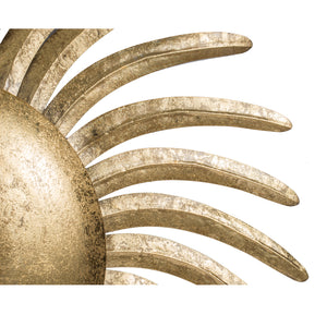 GOLD SUNBURST WALL DECOR