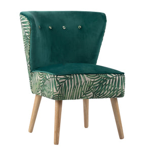 Tropica Green Accent Chair