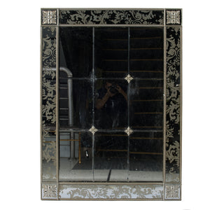 LATTICED ORNATE MIRROR