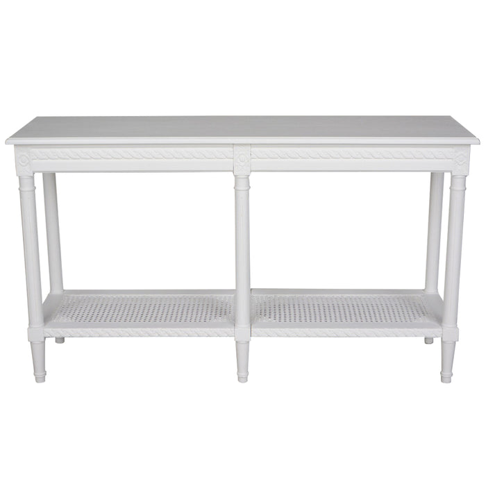 Polo Wooden Console Table, 140cm, White