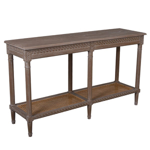 Polo Wooden Console Table, 140cm, Oak Wash