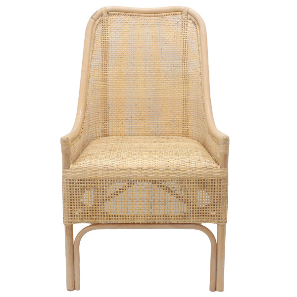Brunch Rattan Chair, Whitewash