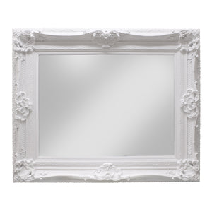 Raphael Timber Frame Mirror, 145cm, White