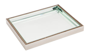 Zeta Tray - Medium Antique Silver
