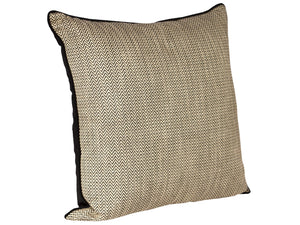 Caesar Cushion - Black 55x55
